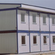Здание мобильное контейнерного типа полнокомплектное ТУ 75 00 РК 39066682 ЗАО-005-2002 фото