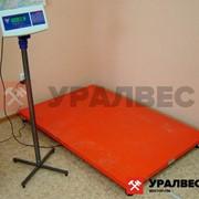 Платформенные весы фотография