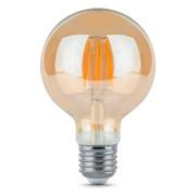 Светодиодная лампа 6Вт Е27 2700К G95 золотое напыление фото