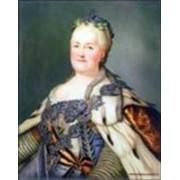 Фарфоровое панно «Екатерина II» фото