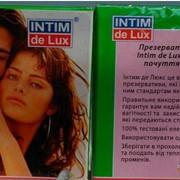 Презервативы Интим де люкс с пупырышками фото