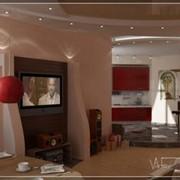 Выполнение визуализации дизайна интерьеров помещений