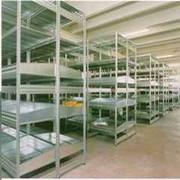 Стеллажи полочные для тяжелых грузов UNIZINC фото