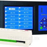 Измеритель температуры Термодат-29М4 - 12 универсальных входов, 24 реле, 2 аварийных реле, интерфейс RS485, архивная память