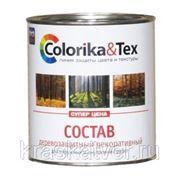"""Состав деревозащитный """"Colorika&Tex"""" различных цветов 2,0кг фото"""