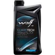 Масло моторное WOLF GUARDTECH 15W40 SL/CF 1L фото