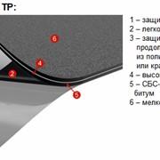 Однослойная битумно-полимерная СБС-модифицированная геомембрана для подземных и инженерных сооружений TERANAP фото