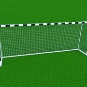 Ворота футбольные тренировочные сборно-разборные, алюминиевые, чёрно-белые ФТАО-10050 фото
