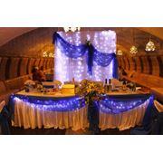 Пошив мебельных чехлов и покрывал для свадеб и других торжеств фото