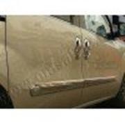 Молдинги дверей Fiat Doblo 2 10- 4шт нерж фото
