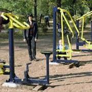 Комплексы и площадки спортивные антивандальные фото