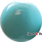 Мяч голубой,18см, вес 400 гр. фото