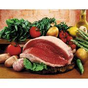 Мясо свиное в полутушах фото