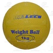 Мяч для атлетических упражнений (Вейтбол) 1 кг фото