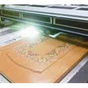 Цифровая УФ-печать на дереве ДСП МДФ фото
