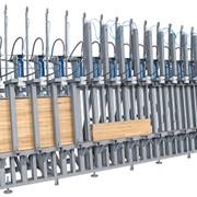 Пресс для изготовления деревянного бруса WP - 3001 фото