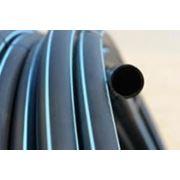 Труба ПЭ (полиэтиленовая) 32мм. фото
