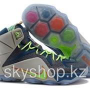 Кроссовки Nike LeBron XII 12 Blue Orange Elite Series 40-46 Код LBXII07 фото