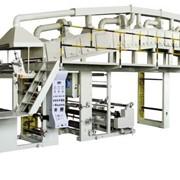 Многофункциональная кашировальная машина для нанесения клея на пленки ВОРР,ОРР модель PUTHVF -1300 фото