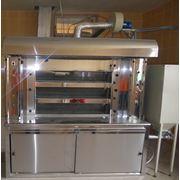 Печь Подовая индустриальная для выпечки хлеба фото