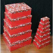 """Комплект коробок из 16шт. """"Красные шары"""" 910-989 фото"""