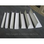 Угол завершающий для стен. панелей 10х10мм (L-образный) фото