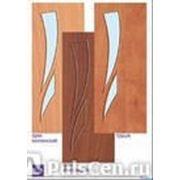 Полотно дверное стекло 1/8 Орех Итал 1561 Maza (600-800х2000), шт фото