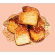 Слоеное печенье с кунжутом