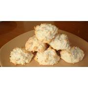 Кокосовое печенье фото