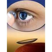 Линзы контактные фото