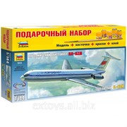 Звезда 7013,Советский пассажирский авиалайнер Ил-62М (масштаб 1144)