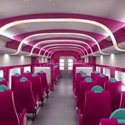 Дизайн интерьеров вагонов фото