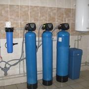 Монтаж и пусконаладка систем очистки воды фото