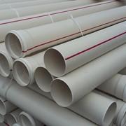 Труба ПВХ канализационная ⌀110 мм 2,2 мм 1 м фото