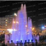 Строительство фонтанов цветомузыкальных фото