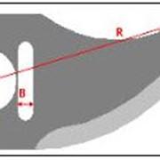Нож для обвалки мяса Л-5ФКБ 250 К S-5 фото
