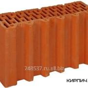 Блок керамический Porotherm 38 1/2 поризованный фото