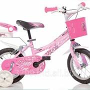 Детский велосипед Dino Bikes Barbie фото