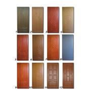 Дверная накладка из МДФ 6 фото