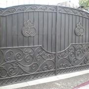 Кованые ворота, заборы и ограждения от Максим фото