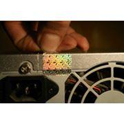 Голограммы с пломбирующими свойствами фото