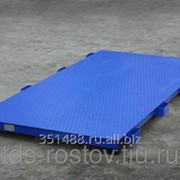 Весы для животных 2000 кг платформа 2000х1000 мм без ограждения фото