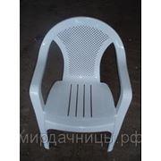 Кресло Румба белое фото