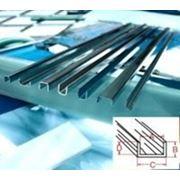 Профиль (протяжка) цинковый П-образн, длина 180 см фото