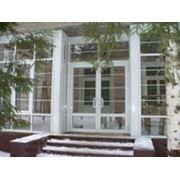 Алюминиевые окна (конструкции) фото