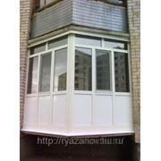 Остекление балконов фото