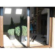 Алюминиевые раздвижные двери фото
