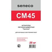 Штукатурная смесь черновая Seneco CM45. фото