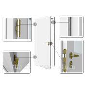 Дверные блоки с притвором (с четвертью или фальцем) фото