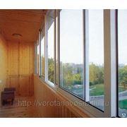 Остекление балконов, фасадов, лоджий фото